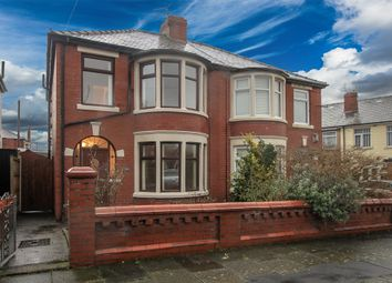 Thumbnail 3 bed semi-detached house for sale in Blenheim Avenue, Blackpool