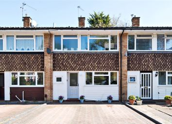 Thumbnail 3 bed terraced house for sale in Burn Close, Addlestone, Surrey