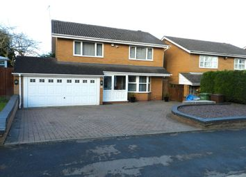 Thumbnail 4 bedroom detached house for sale in Kingsleigh Drive, Castle Bromwich, Birmingham