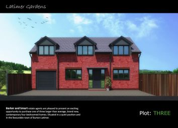 Thumbnail 4 bed detached house for sale in Acorn Park, Cranford Road, Burton Latimer, Kettering