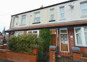 Thumbnail 3 bed terraced house for sale in Longford Road, Stockport