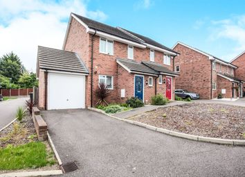 Thumbnail 3 bedroom semi-detached house for sale in Cullen Close, Luton