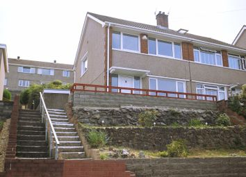 Thumbnail 3 bed semi-detached house for sale in Oakdene Close, Baglan, Port Talbot, Neath Port Talbot.