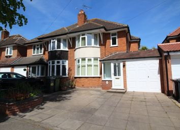 Thumbnail 3 bedroom semi-detached house to rent in Ralph Road, Shirley, Solihull