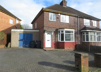 Thumbnail 3 bed semi-detached house to rent in Barbara Road, Hall Green, Birmingham