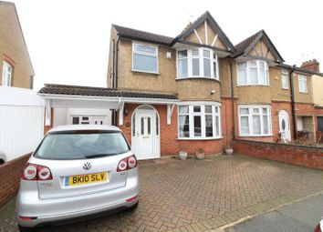 Thumbnail 3 bed semi-detached house to rent in High Mead, Luton