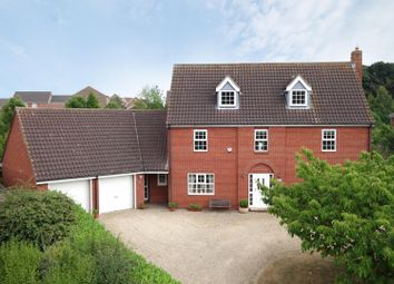 Thumbnail 6 bed detached house for sale in Bramley Close, Bury St. Edmunds
