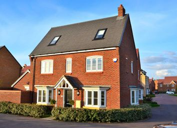 Thumbnail 4 bed detached house for sale in Baldwin Walk, Kempston, Bedford