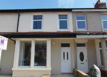 Thumbnail 3 bed terraced house for sale in Nutter Road, Cleveleys