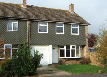 Thumbnail 4 bedroom end terrace house to rent in Countisbury Close, Bognor Regis
