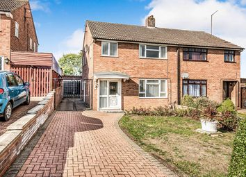 Thumbnail 3 bed semi-detached house for sale in Poplar Avenue, Putnoe, Bedford