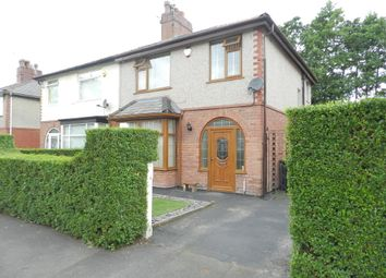 Thumbnail 3 bed semi-detached house for sale in Lauderdale Crescent, Ribbleton, Preston