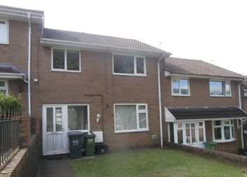 Thumbnail 3 bed terraced house to rent in Caerwent Road, Croesyceiliog, Cwmbran