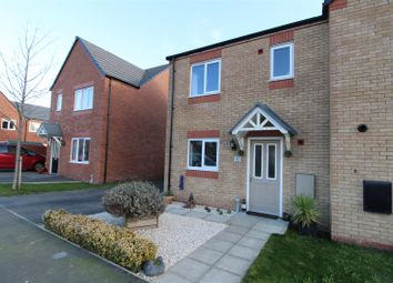 Thumbnail 3 bed semi-detached house for sale in Poppy Field Drive, Penyffordd, Chester