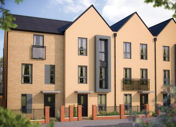 "Thumbnail 3 bed town house for sale in ""The Shenley"" at London Road, Calverton, Milton Keynes"