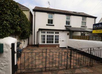 Thumbnail 2 bedroom terraced house to rent in Middle Street, Shaldon, Devon