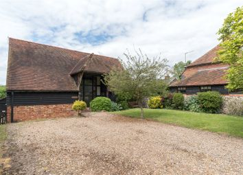 Thumbnail 5 bed barn conversion for sale in Bells Forstal, Throwley, Faversham, Kent