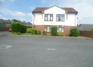 Thumbnail 1 bedroom flat to rent in Northwood Green, Hanley, Stoke-On-Trent