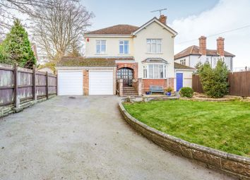Thumbnail 4 bed detached house to rent in Park Road, Purbrook, Waterlooville