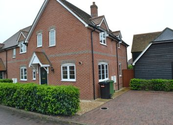 Thumbnail 3 bedroom semi-detached house to rent in Farmhouse Mews, Thatcham