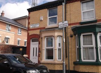 Thumbnail 2 bedroom terraced house to rent in Bannerman Street, Wavertree, Liverpool