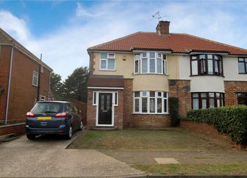 Thumbnail 3 bed semi-detached house for sale in Dereham Avenue, Ipswich, Suffolk