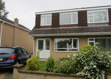 Thumbnail 3 bed semi-detached house to rent in Pine Close, Street, Street