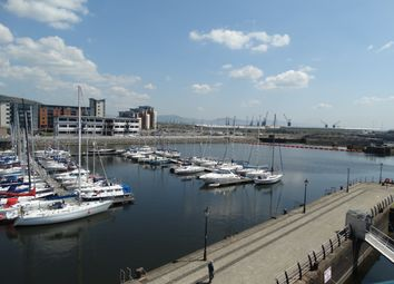 Thumbnail 2 bed flat to rent in Pockets Wharf, Swansea Marina