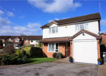 Thumbnail 4 bed detached house for sale in Malthouse Close, Fleet