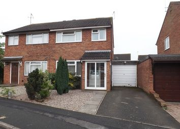 Thumbnail 3 bed semi-detached house for sale in Laurel Avenue, Evesham