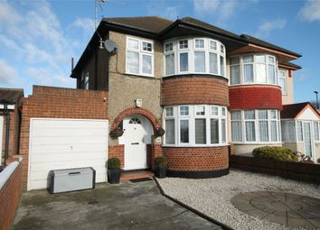 Thumbnail 3 bed semi-detached house for sale in Staines Road, Bedfont, Feltham, Middlesex