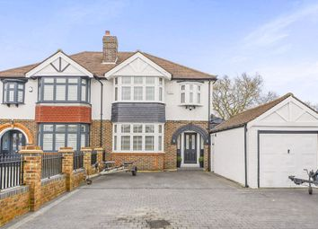 Thumbnail 3 bed semi-detached house for sale in Ruskin Drive, Worcester Park