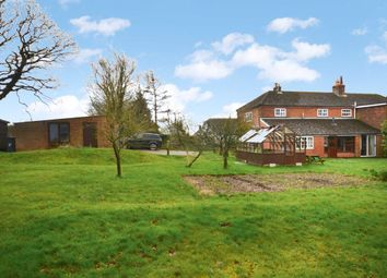 Thumbnail 4 bed semi-detached house for sale in Swanthorpe Cottages, Crondall, Farnham