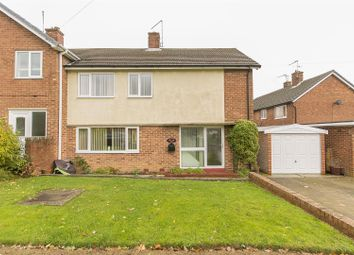 Thumbnail 3 bed semi-detached house for sale in Gower Crescent, Loundsley Green, Chesterfield