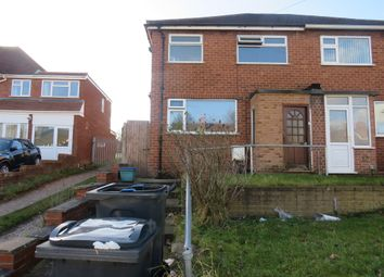 Thumbnail 3 bed semi-detached house for sale in Cramlington Road, Great Barr, Birmingham