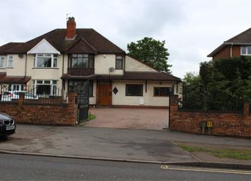 Thumbnail 4 bed semi-detached house for sale in Lichfield Road, Wolverhampton, West Midlands