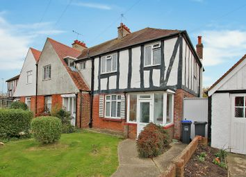 Thumbnail 3 bedroom semi-detached house for sale in Beaumont Road, Broadwater, Worthing