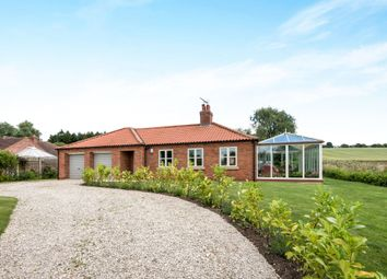 Thumbnail 4 bedroom detached bungalow for sale in Weldon Road, Hemswell, Gainsborough