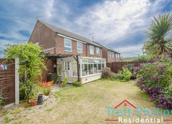Thumbnail 3 bed semi-detached house for sale in Bullemer Close, Stalham, Norwich