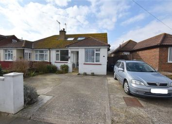 Thumbnail 4 bed semi-detached house for sale in Elms Drive, Lancing, West Sussex