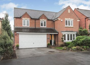 Thumbnail 5 bed detached house for sale in Gilbert Way, Fernwood, Newark