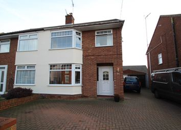 Thumbnail 3 bed semi-detached house for sale in Britannia Road, Ipswich