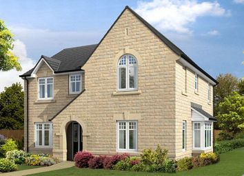 "Thumbnail 4 bedroom detached house for sale in ""The Salcombe V1"" at Burn Road, Huddersfield"