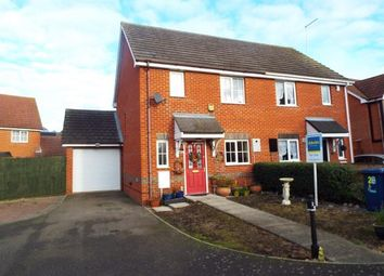 Thumbnail 3 bed semi-detached house for sale in Manea, March, Cambridgeshire