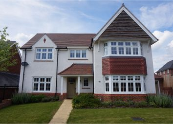 Thumbnail 4 bed detached house for sale in Kinnersley Road, Alcester