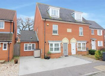 Thumbnail 3 bed semi-detached house for sale in Chartfields, Kingsnorth