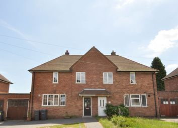 Thumbnail 3 bed semi-detached house to rent in Green Meadow Road, Bournville Village Trust, Selly Oak