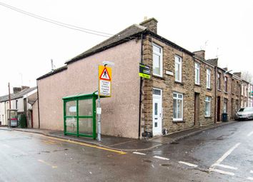 Thumbnail 4 bed terraced house for sale in Railway Street, Trelewis