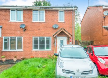 Thumbnail 2 bed semi-detached house for sale in Hopton Close, Burberry Grange, Tipton