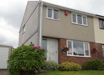 Thumbnail 3 bed semi-detached house for sale in Heol Pentyla, Llansamlet, Swansea